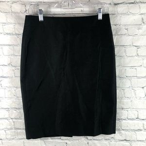 J Crew Cotton Classic Straight Pencil Skirt